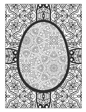 page 15 image from Easter Egg Coloring Book