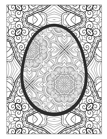 page 18 image from Easer Egg Coloring Book
