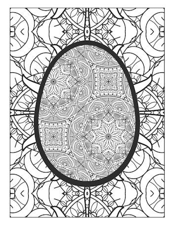 page 26 image from Easter Egg Coloring Book