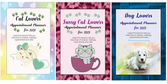 Cat lovers, sassy cat lovers and dog lovers covers