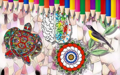 Colouring to Give The Mind A Break