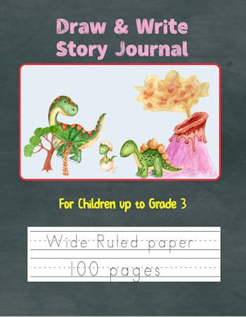 Dinosaurs Draw & Write Cover
