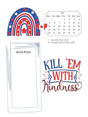 Rainbows of Kindness July