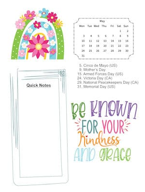 Rainbows of Kindness May