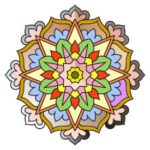 Round Mandala Giveaway #1