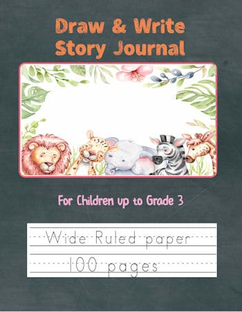 Jungle Animals Draw and Write Cover