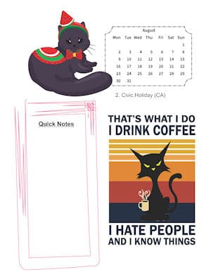 Sassy Cat Lovers August
