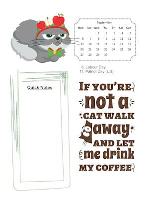 Sassy Cat Lovers September