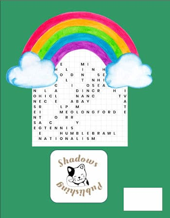 St. Patrick's WordSearch Back Cover