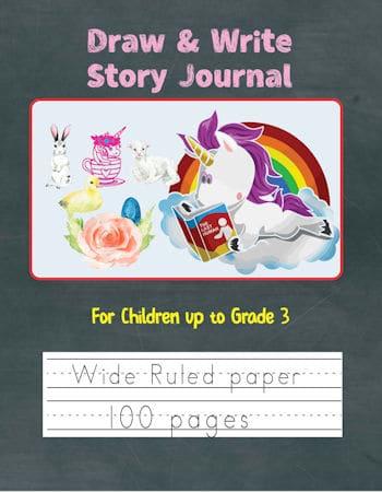 Unicorn Draw & Write Cover
