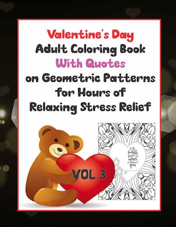 Valentines Quote Vol 3 Front Cover