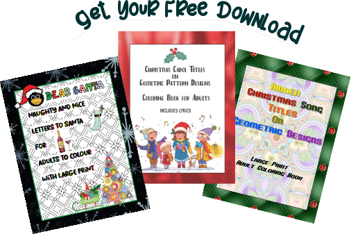 Christmas Coloring Sampler